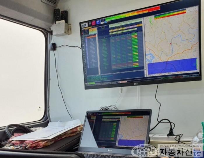 도 보건환경연구원, 차량 이동 실시간 대기오염 3차원 감시 추적시스템 구축_2.jpg