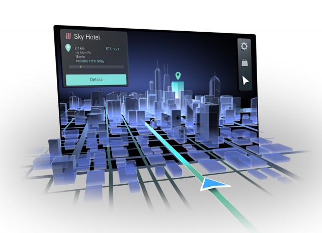 콘티넨탈, 히어·레이아와 내추럴 3D 자동차 내비게이션 공동 개발