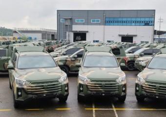 쌍용자동차, 국군 지휘 차량으로 '더 뉴 렉스턴 스포츠' 공급