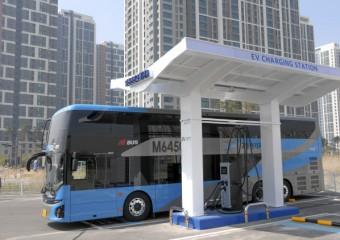 현대자동차, 이층 전기버스 1호 차 전달